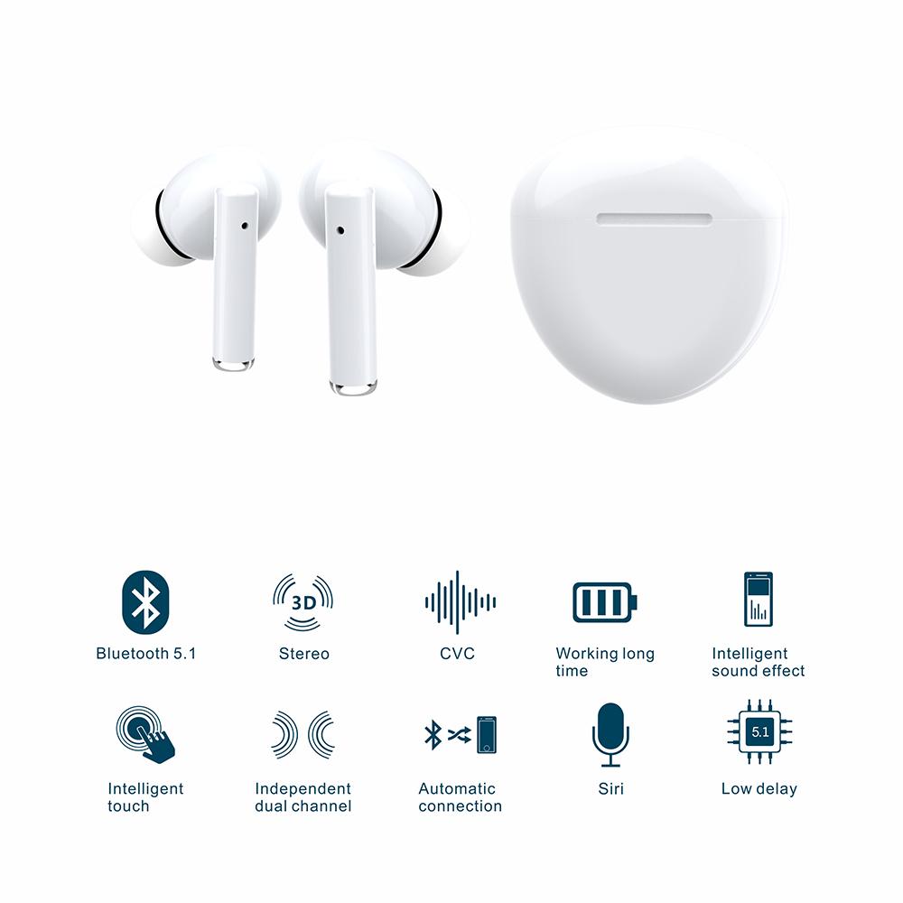 TSPods TWS Earbuds Description 2