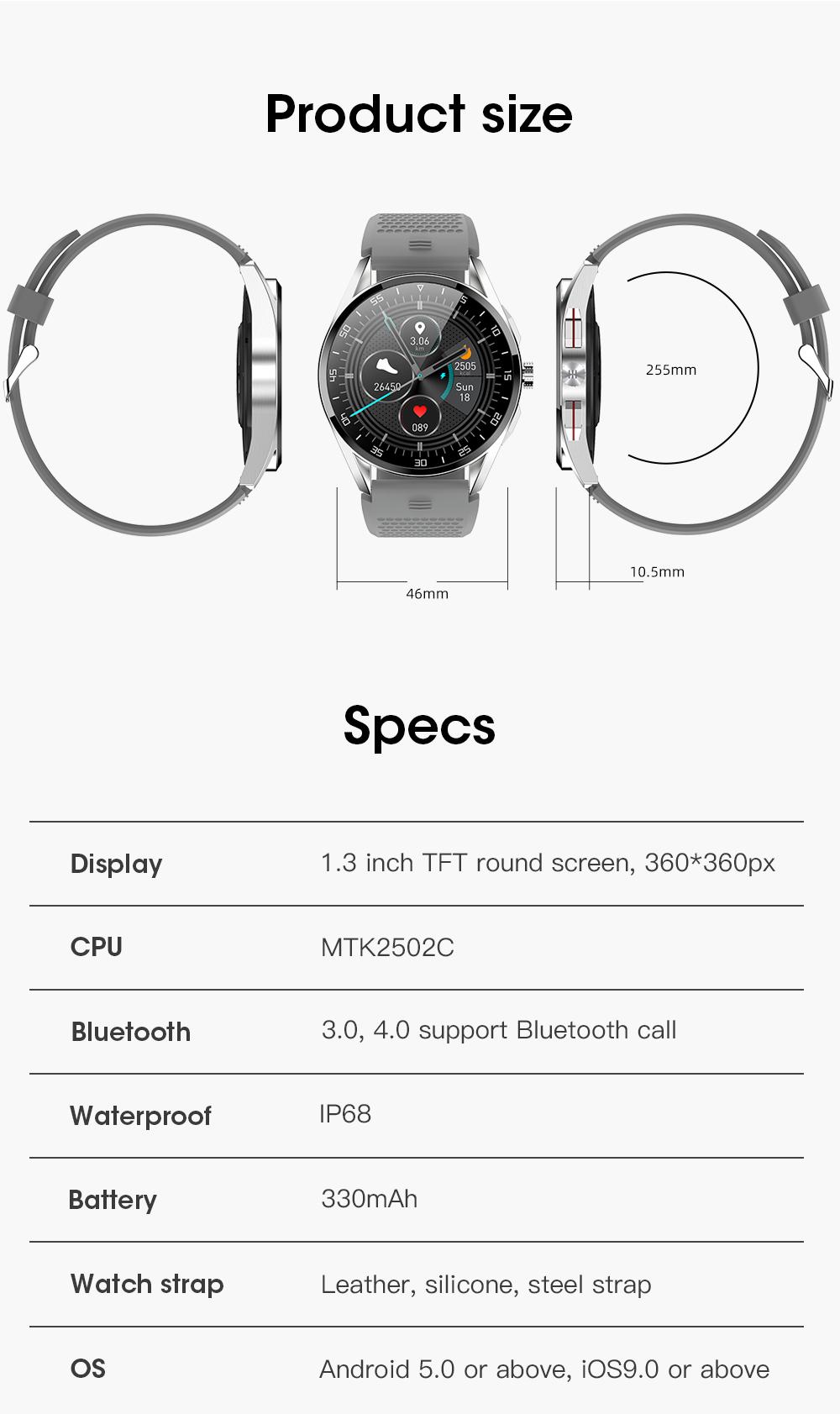 M3 Smart Watch Description-20