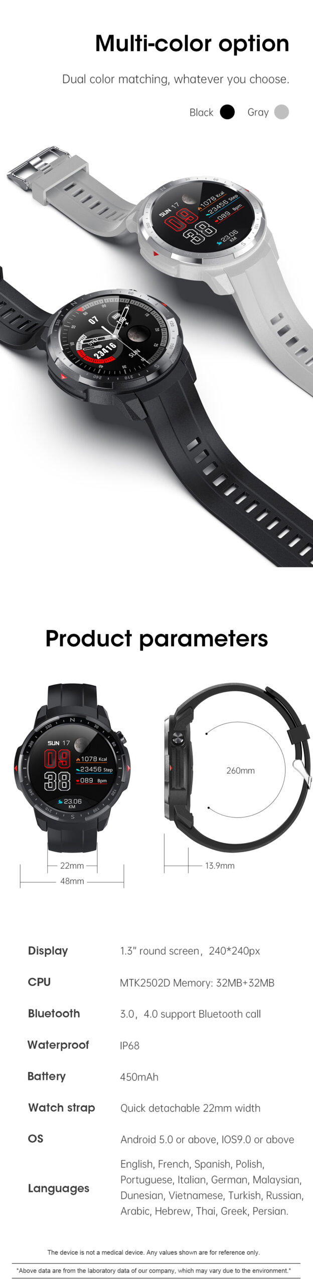 L20 Smart Watch-Detail-11