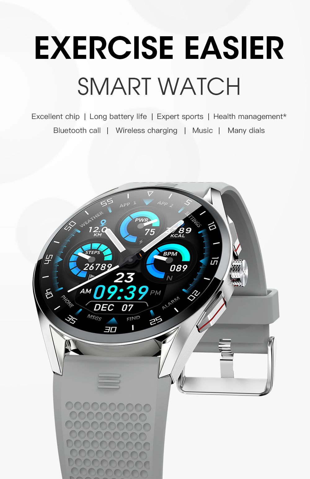 M3 Smart Watch-Detail-1